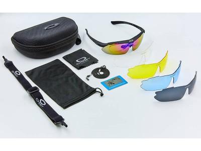 Велосипедные очки с поляризацией  со сменными линзами 5 шт.